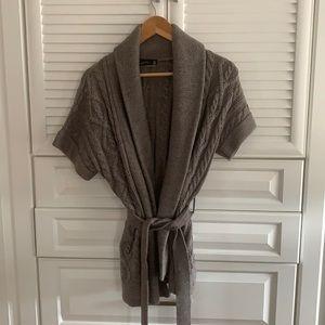 Zara belted sweater